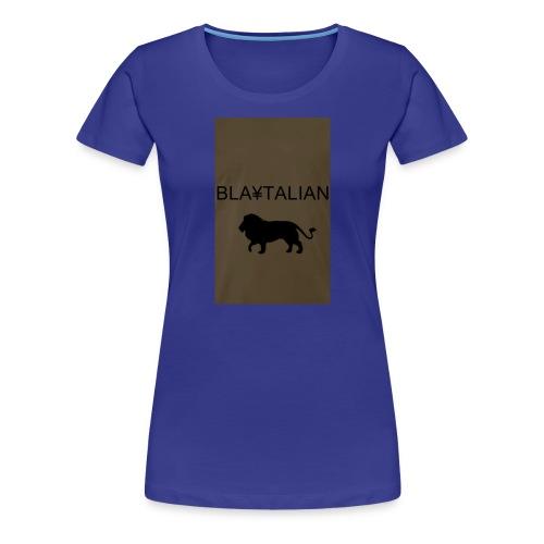 blatalian - Women's Premium T-Shirt