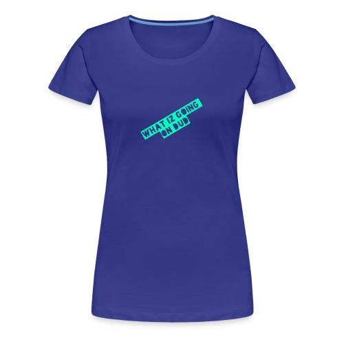 what iz going on dude - Women's Premium T-Shirt