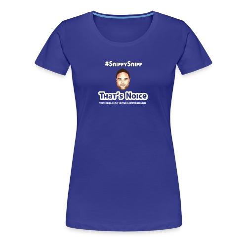 Sniffy Sniff Design - Women's Premium T-Shirt