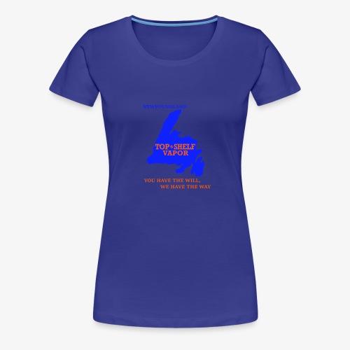 TOPSHELFNEWFIE - Women's Premium T-Shirt