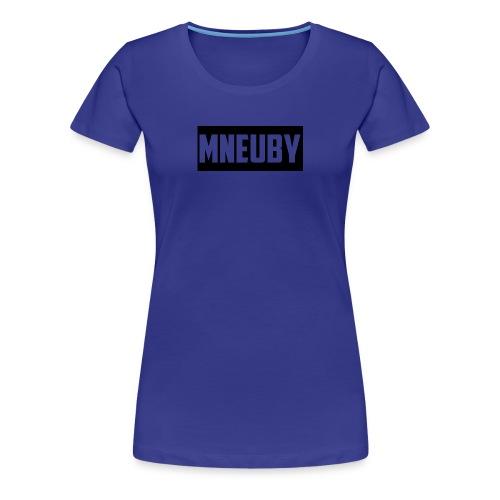 Mneuby Text Logo - Women's Premium T-Shirt