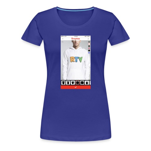 C7251822 7B0B 4B38 9EF3 3465DBCAA008 - Women's Premium T-Shirt