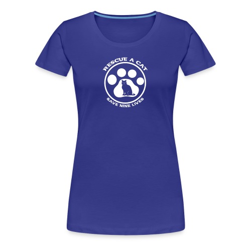 cat rescue - Women's Premium T-Shirt