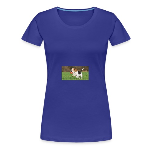 23695 pets vertical store dogs small tile 8 CB312 - Women's Premium T-Shirt