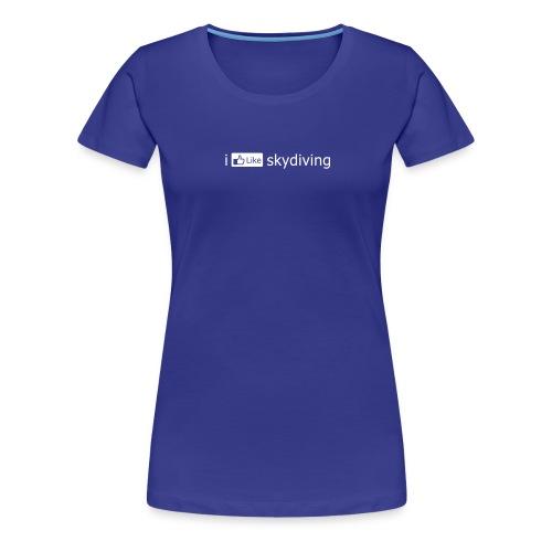 i FB like skydiving - Women's Premium T-Shirt