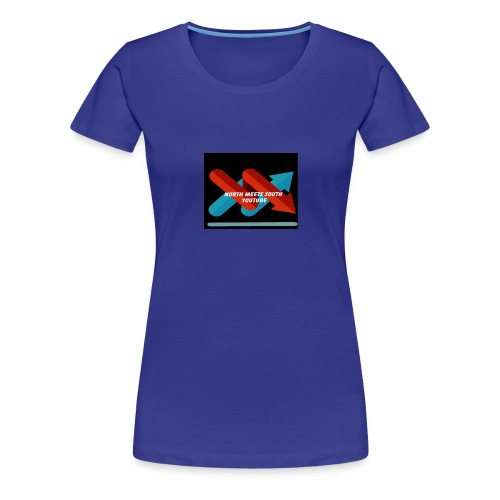 North Meets South Logo - Women's Premium T-Shirt