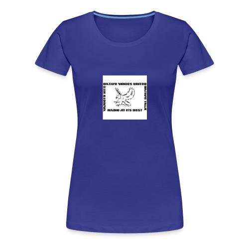 NVU RADIO - Women's Premium T-Shirt