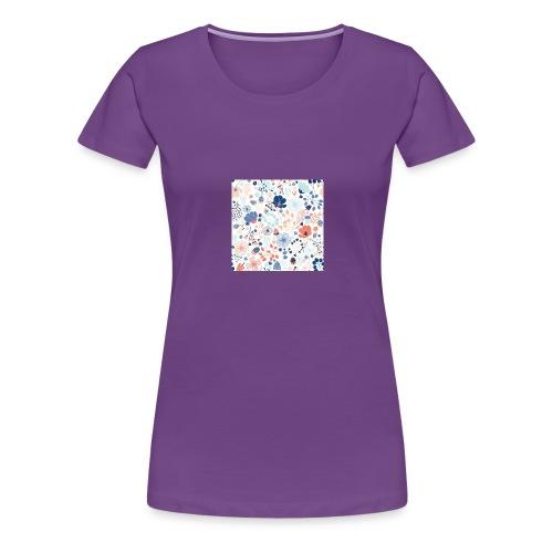 flowers - Women's Premium T-Shirt