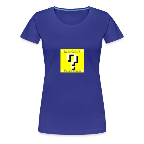 Keep Calm & Punch Blocks - Women's Premium T-Shirt