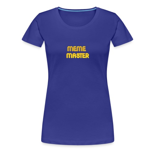 MEME MASTER - Women's Premium T-Shirt