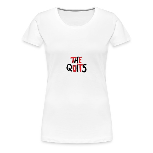 quits logo - Women's Premium T-Shirt