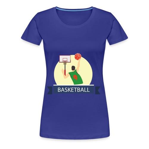 Basketball - Women's Premium T-Shirt