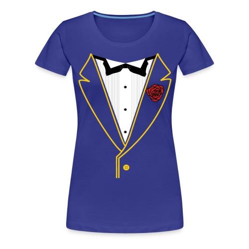 FUNK TUX - GOLD LINE - Women's Premium T-Shirt