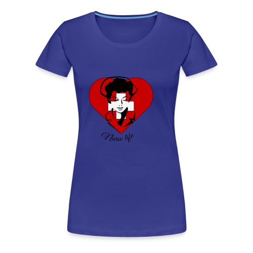 nurselife - Women's Premium T-Shirt