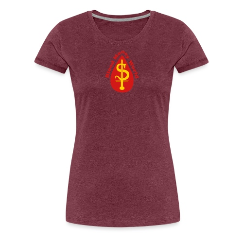 blood money World - Women's Premium T-Shirt