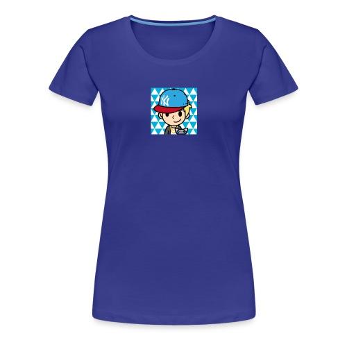 FaceQ1498685113923 1 - Women's Premium T-Shirt