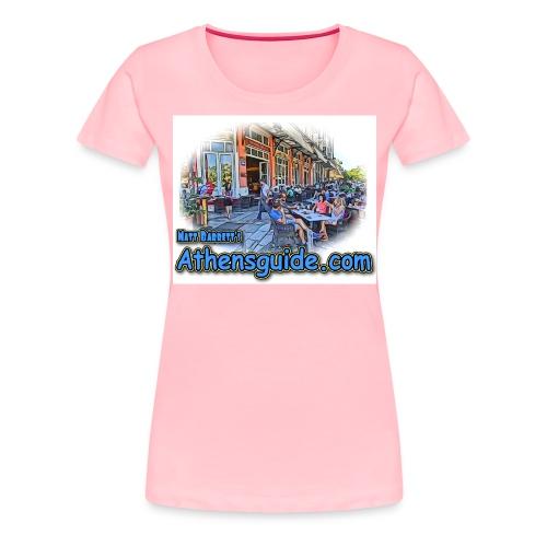 athensguide thission jpg - Women's Premium T-Shirt
