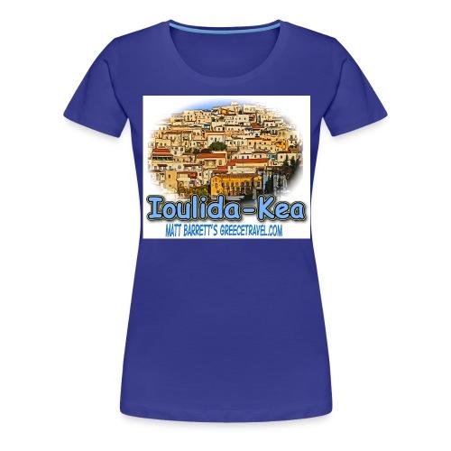 Ioulida Kea jpg - Women's Premium T-Shirt