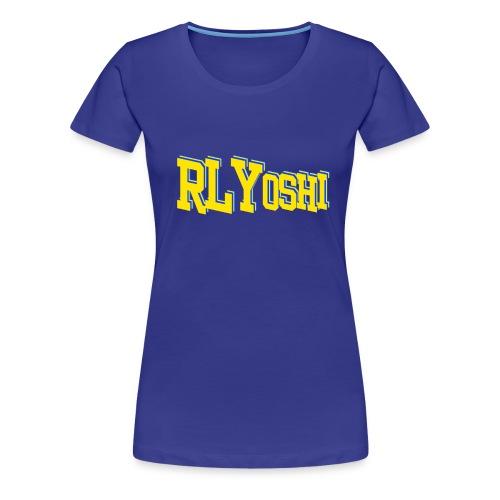 RLYoshi Title - Women's Premium T-Shirt