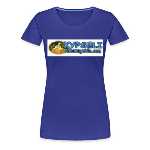 Kypseli dog logo jpg - Women's Premium T-Shirt