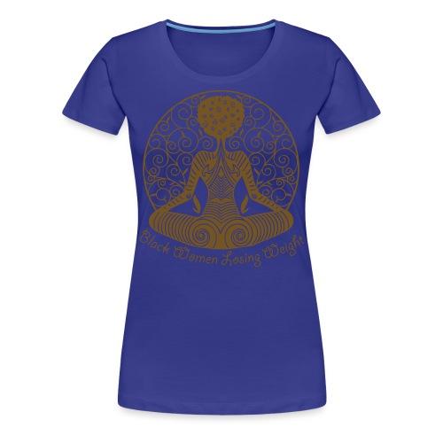 Black Weight Loss Success - Women's Premium T-Shirt