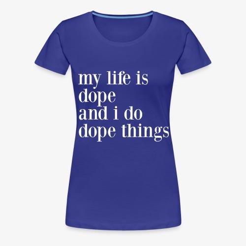 mlidaiddtwhite - Women's Premium T-Shirt
