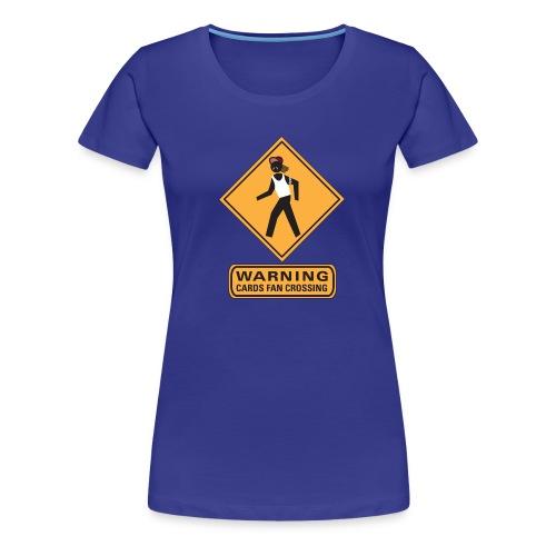 cards crossing - Women's Premium T-Shirt