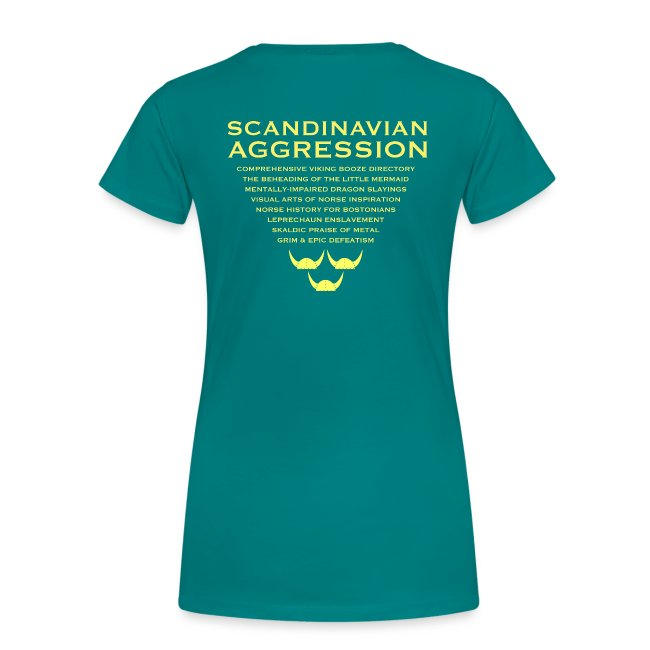 Tre Hjälmar Double-Sided T-Shirt