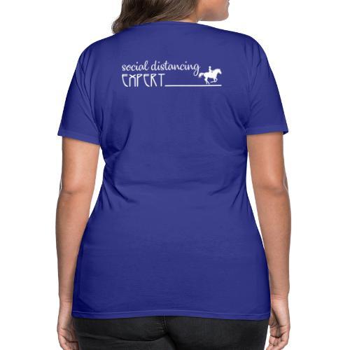 Social Distancing Expert - Women's Premium T-Shirt