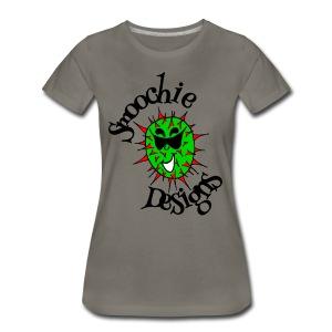 Smoochie Designs logo - Women's Premium T-Shirt