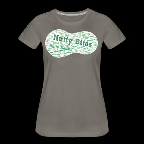 Nutty Bites 100 on Dark - Women's Premium T-Shirt