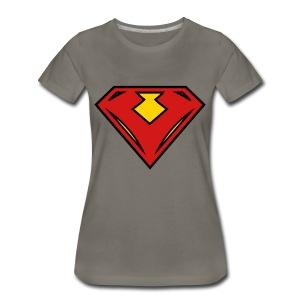 Vegan superhero - Red - Women's Premium T-Shirt