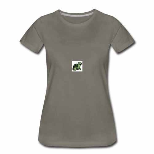 turtle gang logo - Women's Premium T-Shirt