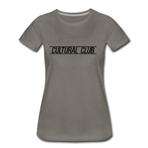 Cultural Club - Women's Premium T-Shirt