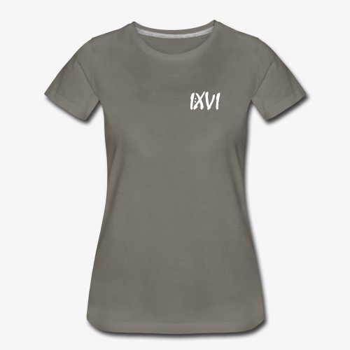 Romans 1:16 (Deluxe I:XVI Edition) - Women's Premium T-Shirt