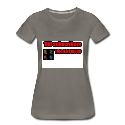 100 Merch - Women's Premium T-Shirt