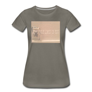 Casey Pierce banner art - Women's Premium T-Shirt