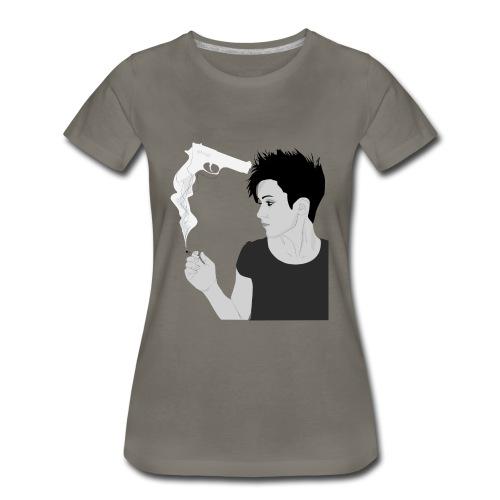 Smoking gun - Women's Premium T-Shirt