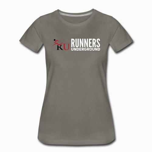 Runners Underground Logo W - Women's Premium T-Shirt
