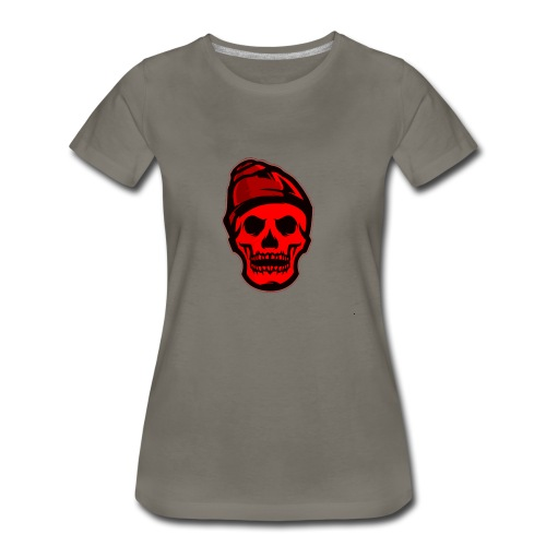 RED Skeleton HaHaHaHa - Women's Premium T-Shirt