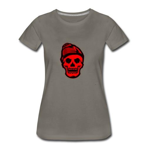 RED Skeleton HaHaHaHa - Women's Premium T-Shirt