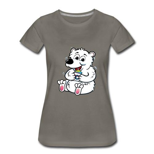 Bear right tank - Women's Premium T-Shirt