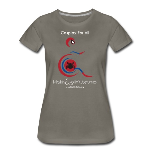 Cosplay For All: Spiderman - Women's Premium T-Shirt
