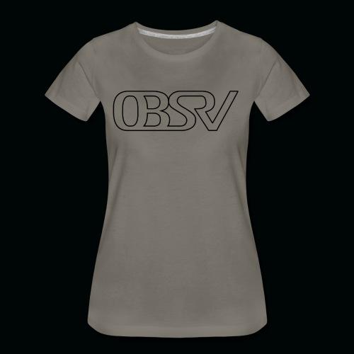 OBSRV Void - Women's Premium T-Shirt