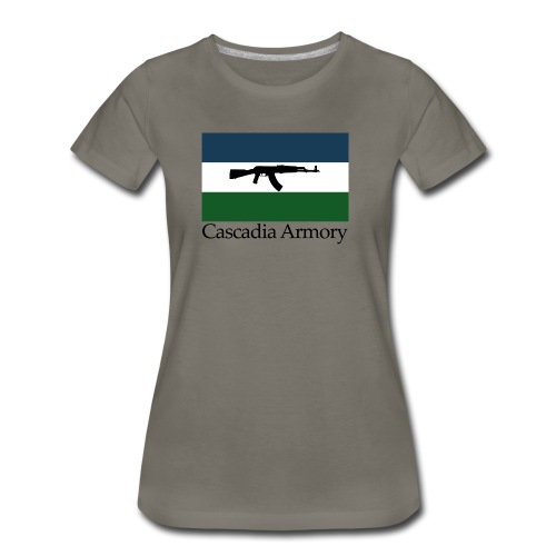 Cascadia Armory Logo - Women's Premium T-Shirt