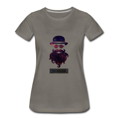 SWAGGER- Beard Swagg - Women's Premium T-Shirt