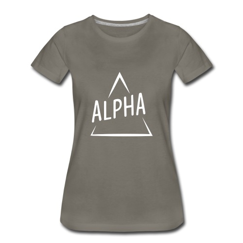 Alpha Brand - Women's Premium T-Shirt