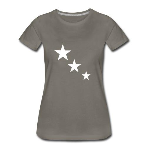 3 STARS - Women's Premium T-Shirt