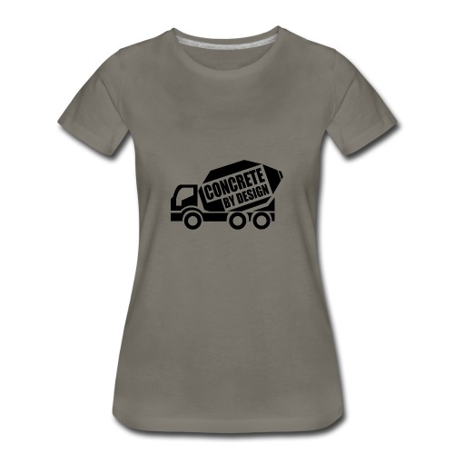 ConcretebyDesign - Women's Premium T-Shirt