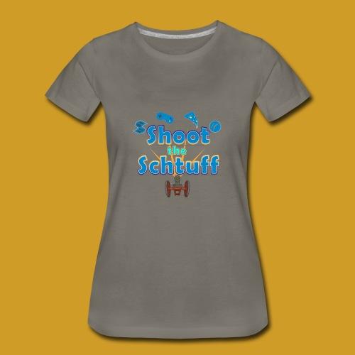 Official Shoot The Schtuff Logo - Women's Premium T-Shirt